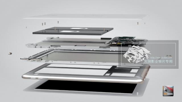 平板电脑三维动画
